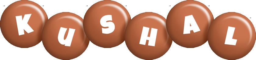 Kushal candy-brown logo
