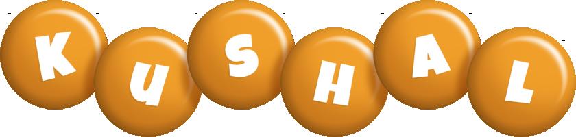 Kushal candy-orange logo