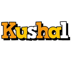 Kushal cartoon logo