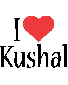 Kushal i-love logo