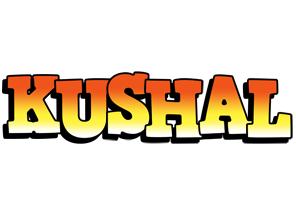 Kushal sunset logo