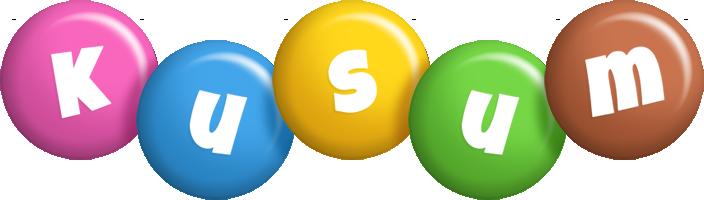 Kusum candy logo