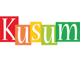 Kusum colors logo