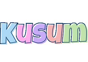 Kusum pastel logo