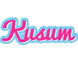 Kusum popstar logo