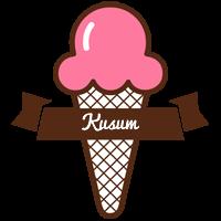 Kusum premium logo