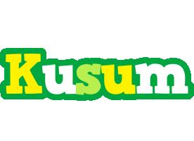 Kusum soccer logo