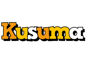 Kusuma cartoon logo