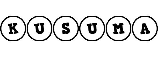 Kusuma handy logo
