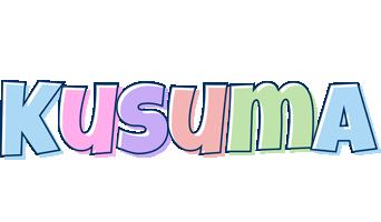 Kusuma pastel logo