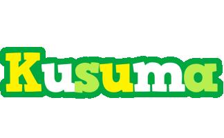 Kusuma soccer logo