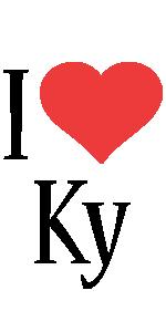 Ky i-love logo