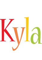 Kyla birthday logo