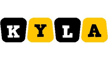 Kyla boots logo
