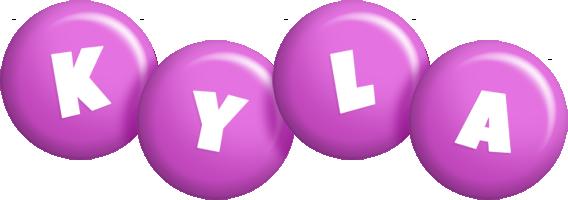 Kyla candy-purple logo