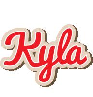 Kyla chocolate logo