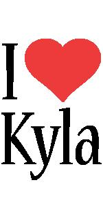 Kyla i-love logo