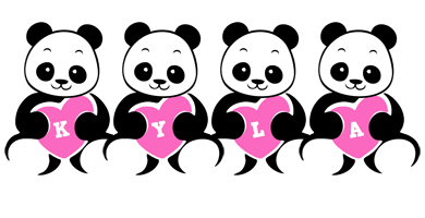 Kyla love-panda logo