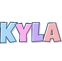 Kyla pastel logo