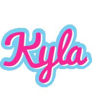 Kyla popstar logo