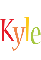 Kyle birthday logo