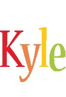 Kyle birthday logo