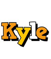 Kyle cartoon logo