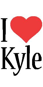 Kyle i-love logo