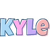 Kyle pastel logo