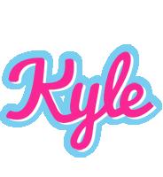 Kyle popstar logo