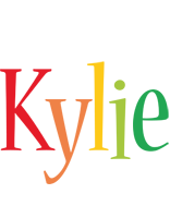 Kylie birthday logo