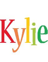 Kylie birthday logo