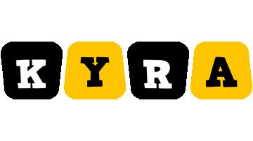 Kyra boots logo