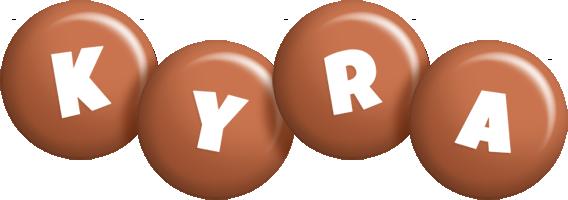 Kyra candy-brown logo