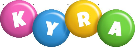 Kyra candy logo