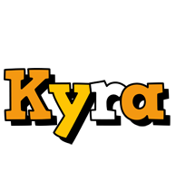 Kyra cartoon logo