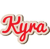 Kyra chocolate logo