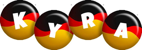 Kyra german logo