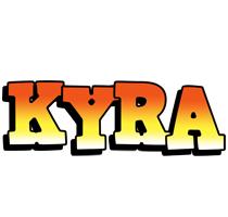 Kyra sunset logo