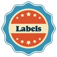 LABELS logo effect. Colorful text effects in various flavors. Customize your own text here: https://www.textGiraffe.com/logos/labels/