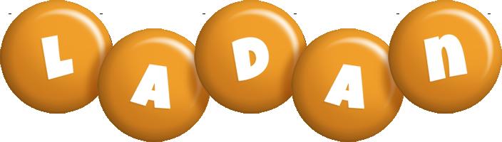 Ladan candy-orange logo