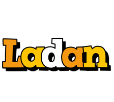 Ladan cartoon logo