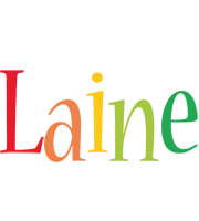 Laine birthday logo
