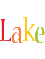 Lake birthday logo
