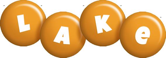 Lake candy-orange logo