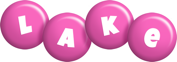 Lake candy-pink logo