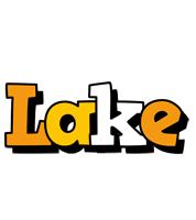 Lake cartoon logo