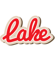 Lake chocolate logo