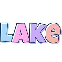 Lake pastel logo