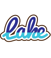 Lake raining logo
